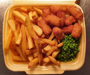 Takeaway Scamp and Chips